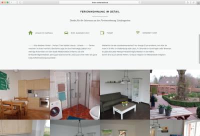 Ferienwohnung-Lindengarten Screenshot