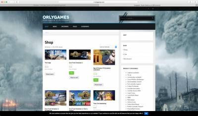 Orlygames Screenshot