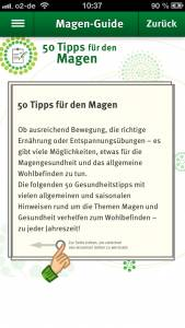 Magen Guide Screenshot