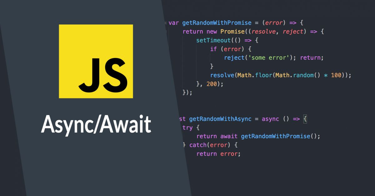 Async/Await: Asynchrone JavaScript Programmierung