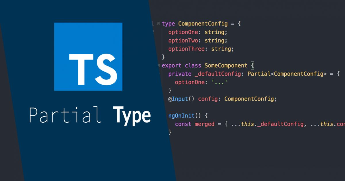 Der Partial Type in TypeScript