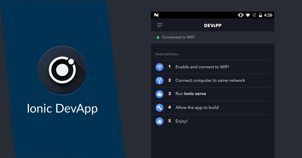 Bessere Ionic Apps mit Ionic Pro und der DevApp