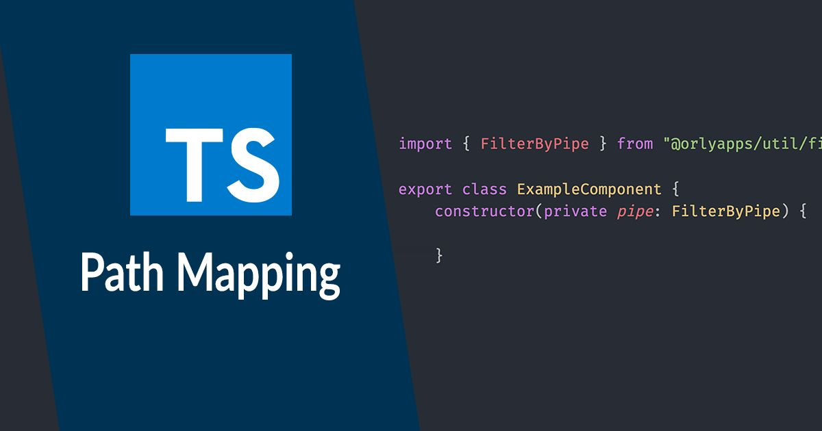 Einfache Imports mit Typescript Path Mapping