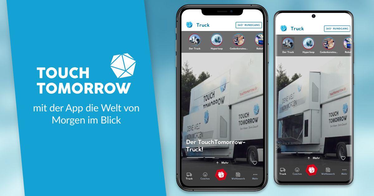 TouchTomorrow: mit der App die Welt von Morgen im Blick